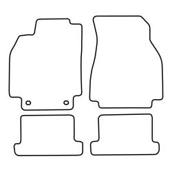 TCP Autospecifieke Pasvorm Automattenset Renault Megane (006)