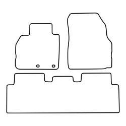 TCP Autospecifieke Pasvorm Automattenset Renault Scenic (005)