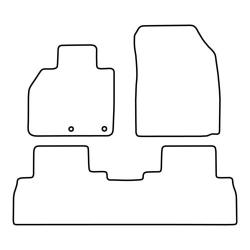 TCP Autospecifieke Pasvorm Automattenset Renault Scenic (007)