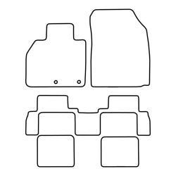 TCP Autospecifieke Pasvorm Automattenset Renault Scenic (008)