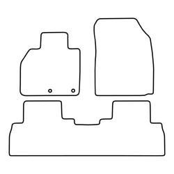 TCP Autospecifieke Pasvorm Automattenset Renault Scenic (009)