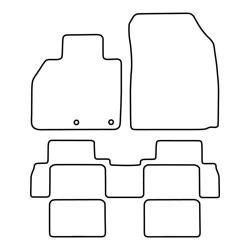TCP Autospecifieke Pasvorm Automattenset Renault Scenic (010)