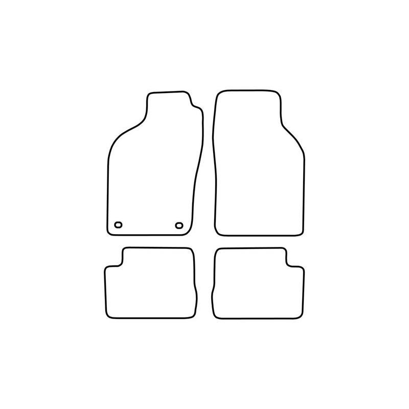 TCP Autospecifieke Pasvorm Automattenset Saab 900 (002)