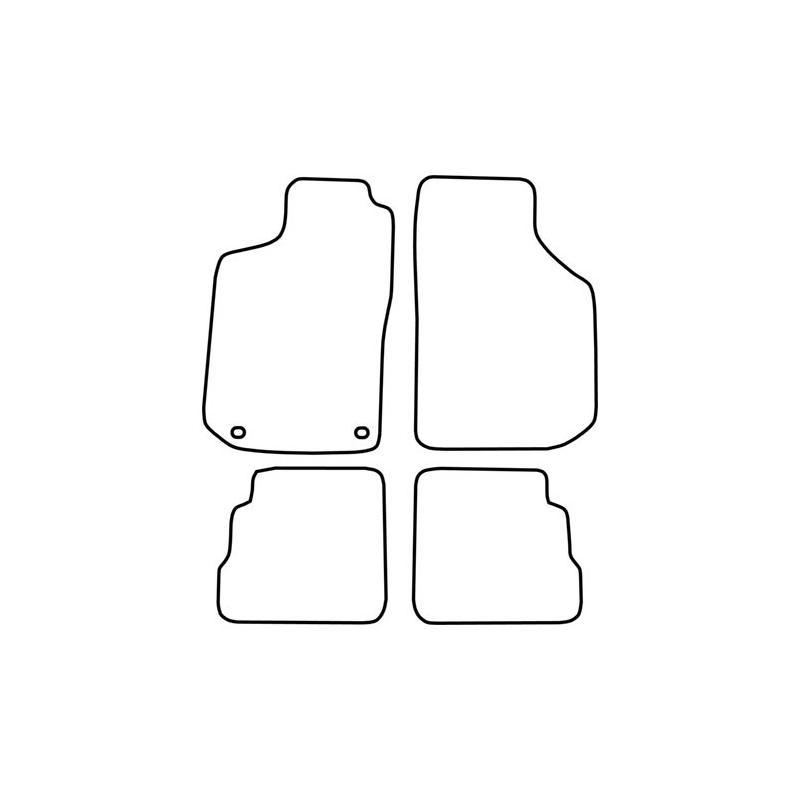 TCP Autospecifieke Pasvorm Automattenset Saab 900 (004)