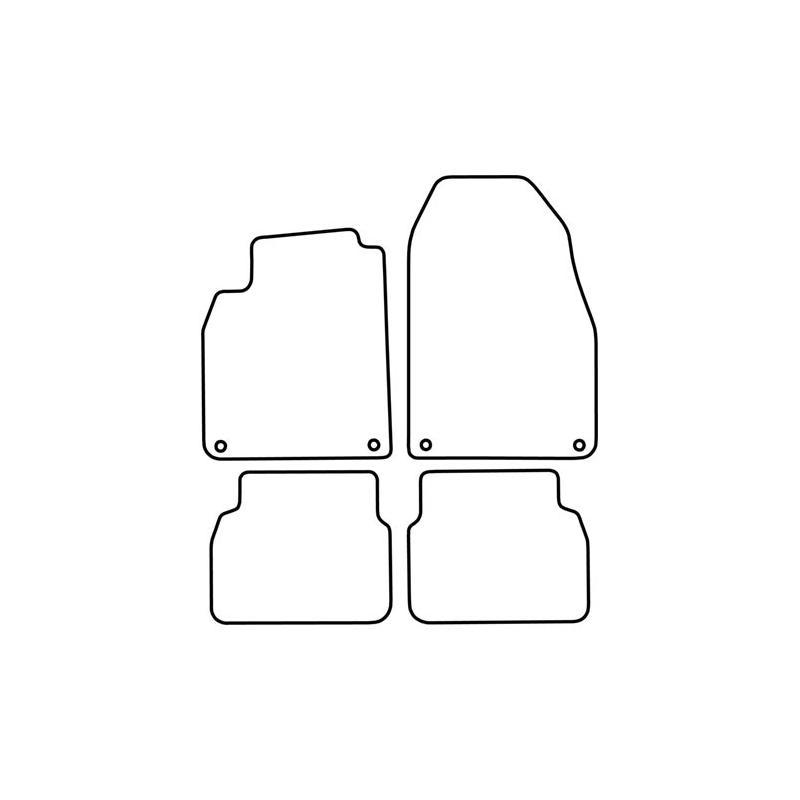 TCP Autospecifieke Pasvorm Automattenset Saab 93 (006)