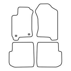 TCP Autospecifieke Pasvorm Automattenset Subaru Forester (001)