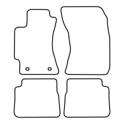 TCP Autospecifieke Pasvorm Automattenset Subaru Forester (003)