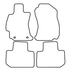 TCP Autospecifieke Pasvorm Automattenset Subaru Forester (004)