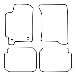 TCP Autospecifieke Pasvorm Automattenset Subaru  Impreza (001)