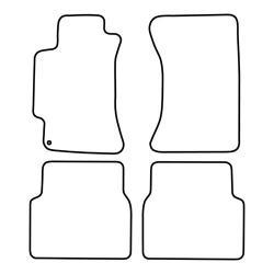 TCP Autospecifieke Pasvorm Automattenset Subaru  Impreza (002)