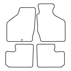 TCP Autospecifieke Pasvorm Automattenset Subaru Impreza (004)
