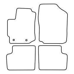 TCP Autospecifieke Pasvorm Automattenset Subaru Justy (003)