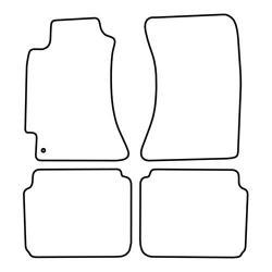 TCP Autospecifieke Pasvorm Automattenset Subaru Legacy (002)