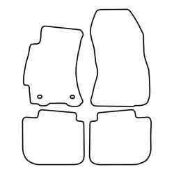 TCP Autospecifieke Pasvorm Automattenset Subaru Legacy (004)