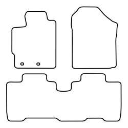TCP Autospecifieke Pasvorm Automattenset Subaru Trezia