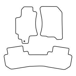 TCP Autospecifieke Pasvorm Automattenset Subaru Tribeca (001)