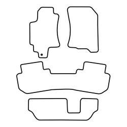 TCP Autospecifieke Pasvorm Automattenset Subaru Tribeca (002)