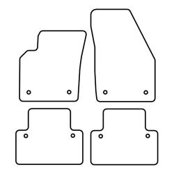TCP Autospecifieke Pasvorm Automattenset Volvo V 50