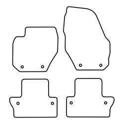 TCP Autospecifieke Pasvorm Automattenset Volvo S60 (002)