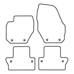 TCP Autospecifieke Pasvorm Automattenset Volvo V60