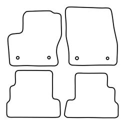 TCP Autospecifieke Pasvorm Automattenset Ford Kuga (Vanaf 2017)