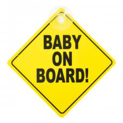 CarkiDs BABY ON BOARD Bord