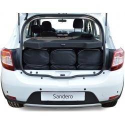 CAR-BAGS Reistassenset Dacia Sandero  (Vanaf 2012)