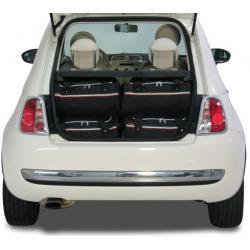 CAR-BAGS Reistassenset Fiat 500 (Vanaf 2007)