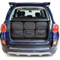CAR-BAGS Reistassenset Fiat 500L (Vanaf 2012)
