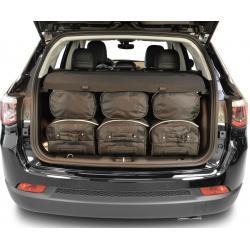 CAR-BAGS Reistassenset Jeep Compass (Vanaf 2017)