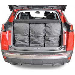 CAR-BAGS Reistassenset Peugeot 3008 2 (Vanaf 2016) 825 Liter