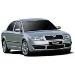 CAR-BAGS Reistassenset Skoda Superb (2002 - 2008)