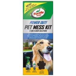 Turtle Wax Power Out Pet Mess Kit