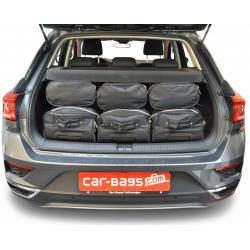 CAR-BAGS Reistassenset Volkswagen T-Roc - Laadvloer Hoog (Vanaf 2017)