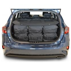 CAR-BAGS Reistassenset Kia Cee'd - Laadvloer Laag (Vanaf 2018)