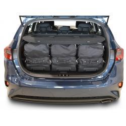 CAR-BAGS Reistassenset Kia Cee'd - Laadvloer Hoog (Vanaf 2018)