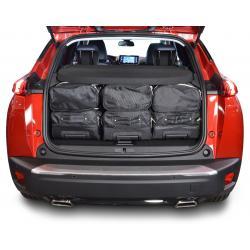 CAR-BAGS Reistassenset Peugeot 2008 - Laadvloer Hoog (Vanaf 2019)
