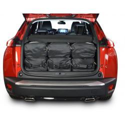 CAR-BAGS Reistassenset Peugeot 2008 - Laadvloer Laag (Vanaf 2019)
