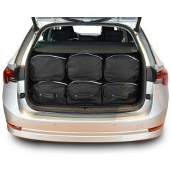 CAR-BAGS Reistassenset Skoda Octavia IV Combi - Laadvloer Laag (Vanaf 2020)