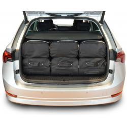CAR-BAGS Reistassenset Skoda Octavia IV Combi - Laadvloer Hoog (Vanaf 2020)