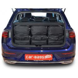 CAR-BAGS Reistassenset Volkswagen Golf 8 - Laadvloer Hoog (Vanaf 2020)