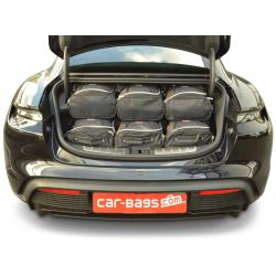 CAR-BAGS Reistassenset Porsche Taycan (Vanaf 2019)